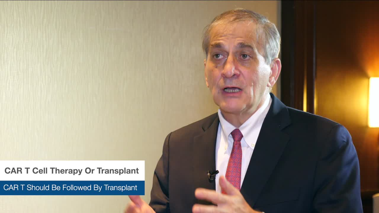 CAR T Cell Therapy Or Transplant