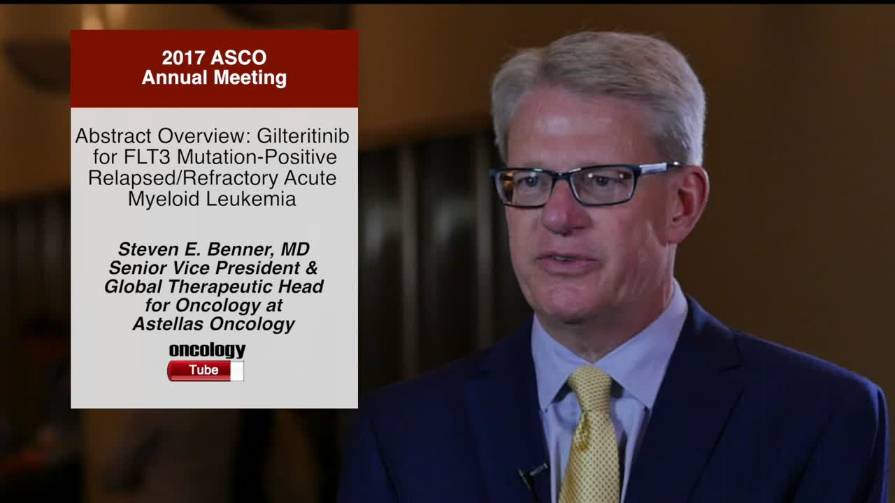 Abstract Overview: Gilteritinib for FLT3 Mutation-Positive Relapsed/Refractory Acute Myeloid Leukemia