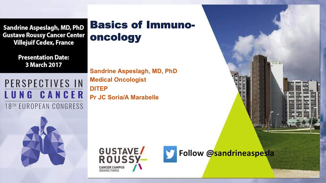 Basis for immunotherapy in lung cancer