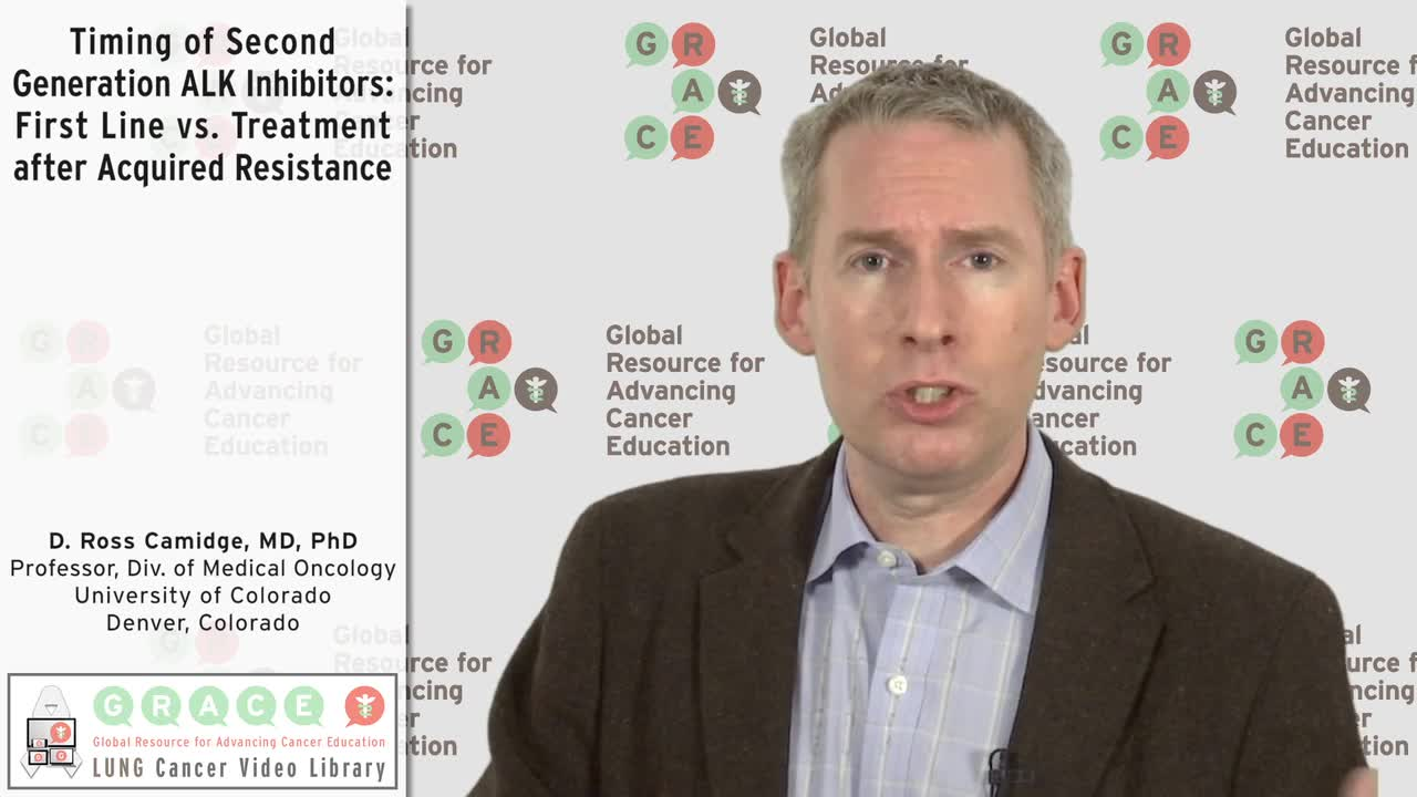 Timing of Second Generation ALK Inhibitors_ First Line vs. Treatment after Acquired Resistance [720p]