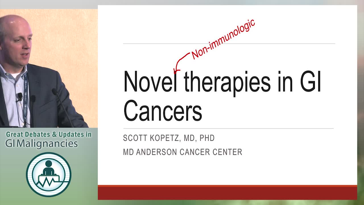 Update: Novel therapies beyond immunotherapy in GI Cancers