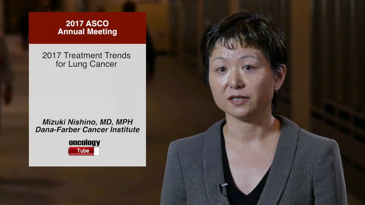 2017 Treatment Trends for Lung Cancer