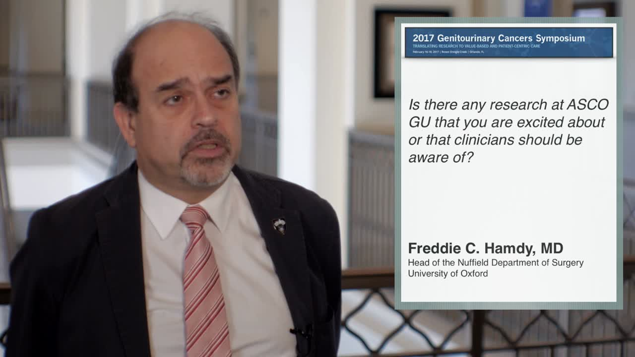 Annual Meeting GU 2017: Prostate Cancer Research Overview