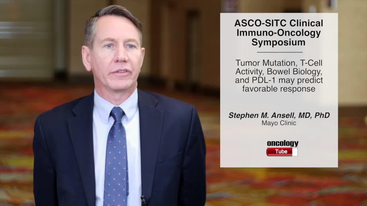 Tumor Mutation, T-Cell Activity, Bowel Biology, and Circulating Molecules May Predict Treatment Response
