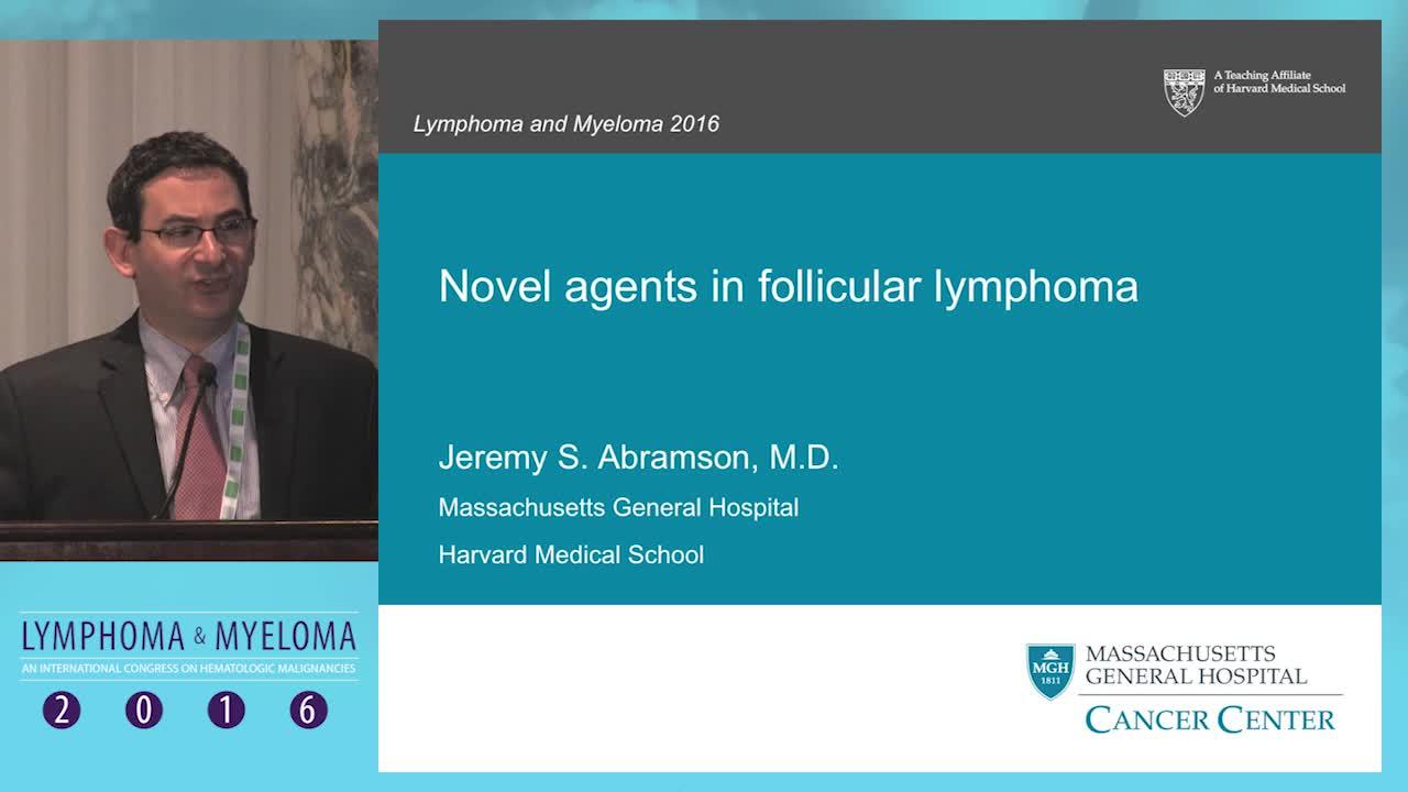 Novel agents in follicular lymphoma