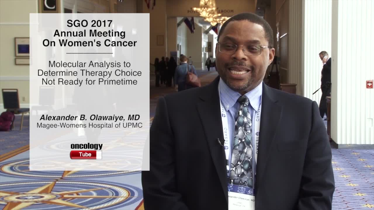 Molecular Analysis to Determine Therapy Choice Not Ready for Primetime