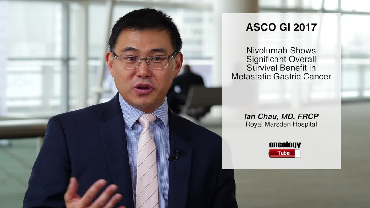 Nivolumab Shows Significant Overall Survival Benefit in Metastatic Gastric Cancer