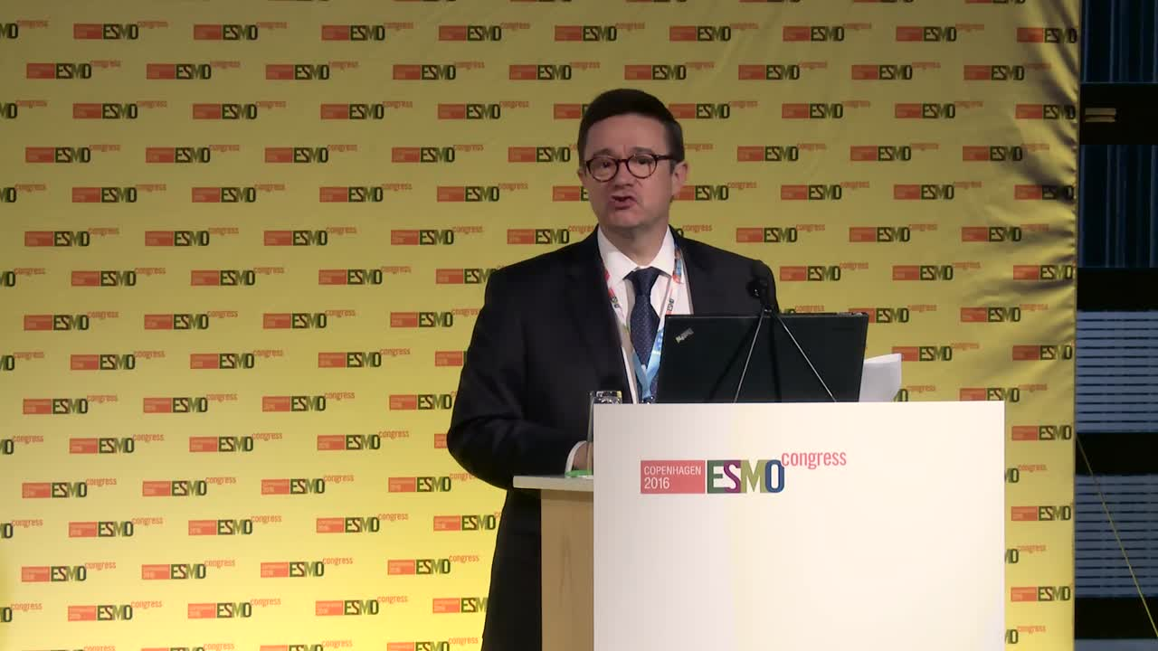 ESMO 2016: Introduction to press briefs and presidential symposia