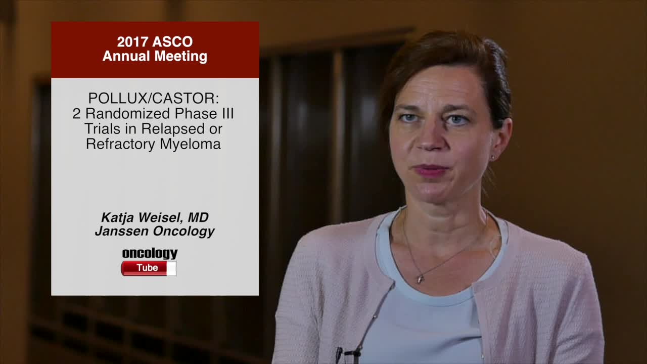 POLLUX/CASTOR: 2 Randomized Phase III Trials in Relapsed or Refractory Myeloma