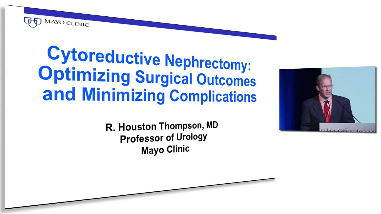 Cytoreductive Nephrectomy: Optimizing Surgical Outcomes and Minimizing Complications