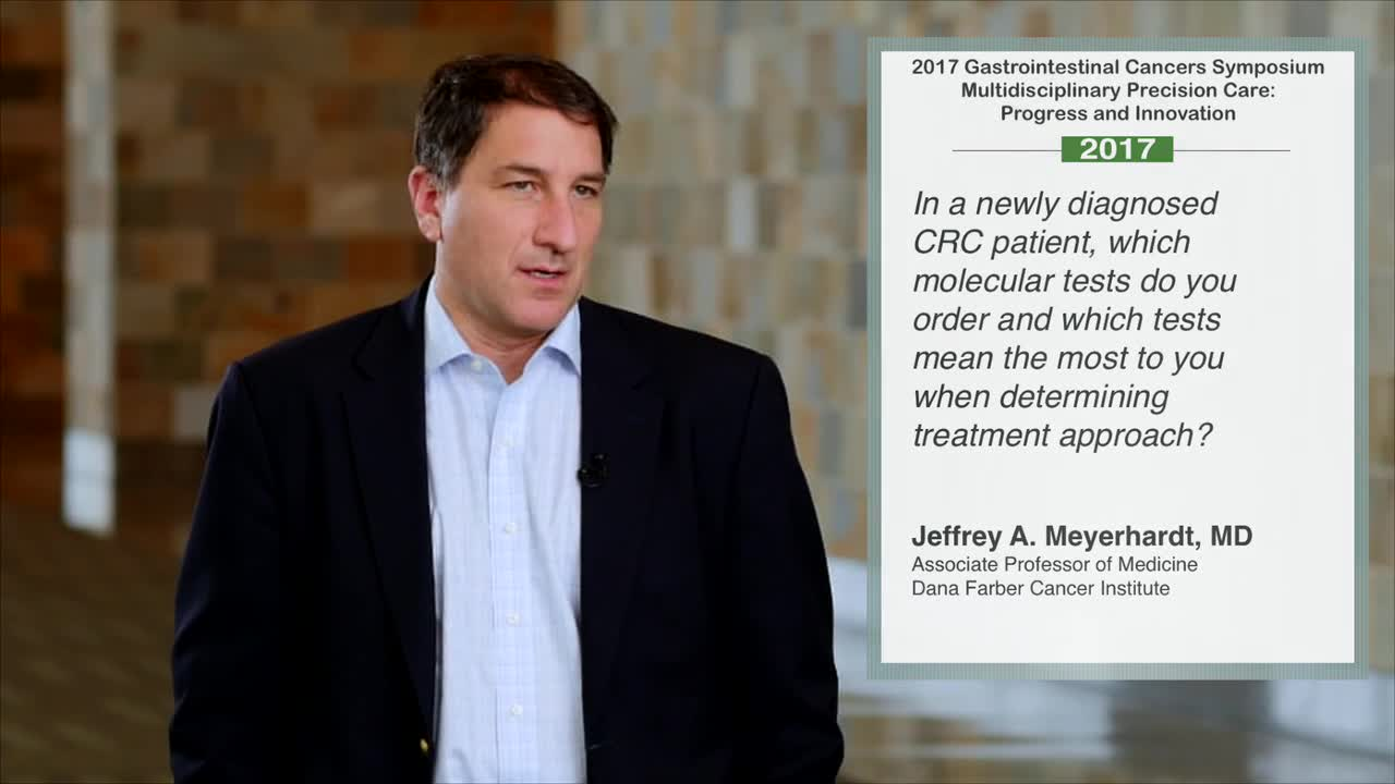 Molecular Tests for Treatment in CRC Patients