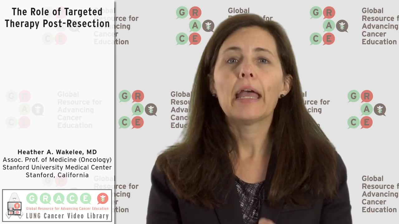 The Role of Targeted Therapy Post-Resection [720p]
