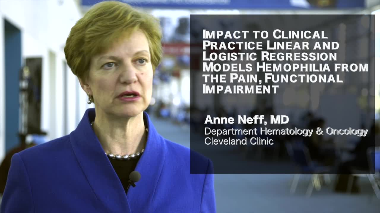 Impact to Clinical Practice: Linear and Logistic Regression Models Hemophilia from Pain
