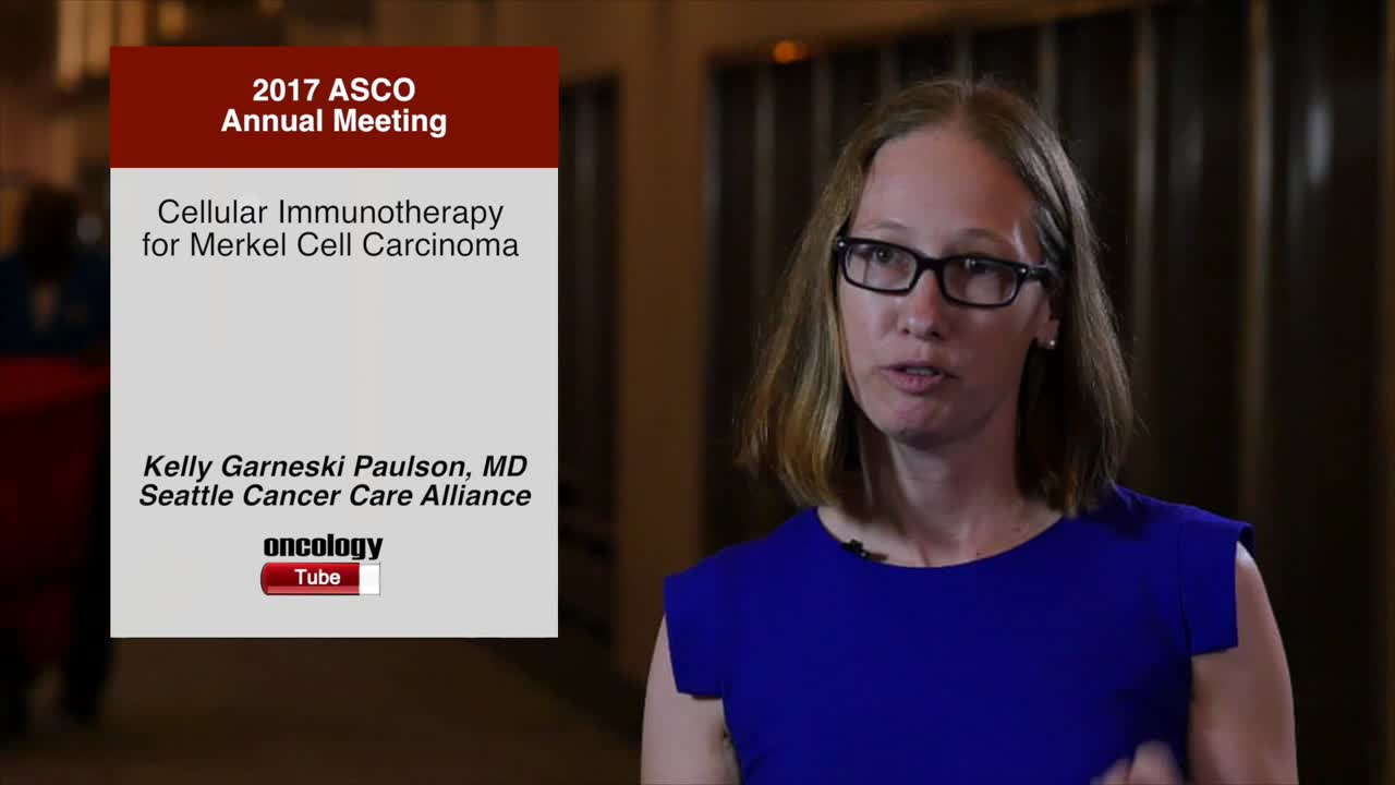 Cellular Immunotherapy for Merkel Cell Carcinoma