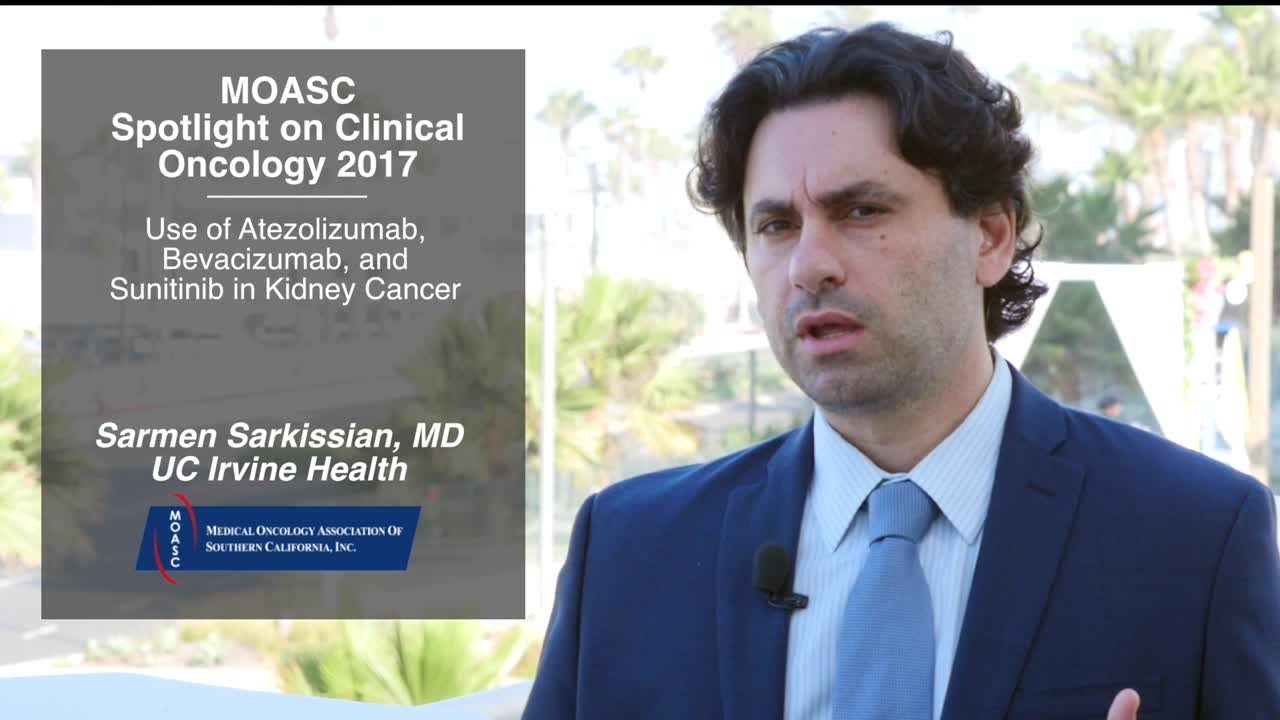 Use of Atezolizumab, Bevacizumab, and Sunitinib in Kidney Cancer