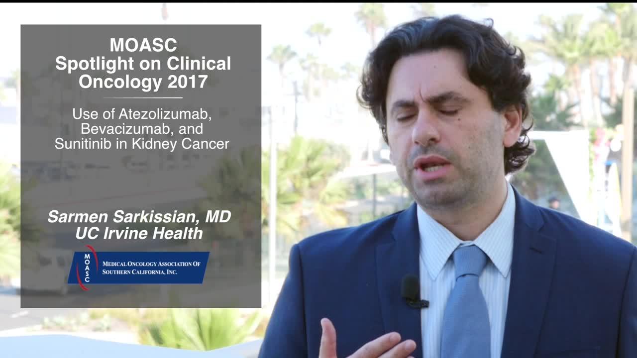 Use of Atezolizumab, Bevacizumab, and Sunitinib in Kidney Cancer