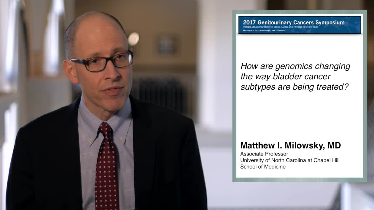 How Genomics are Changing Treatment for Bladder Cancer Subtypes