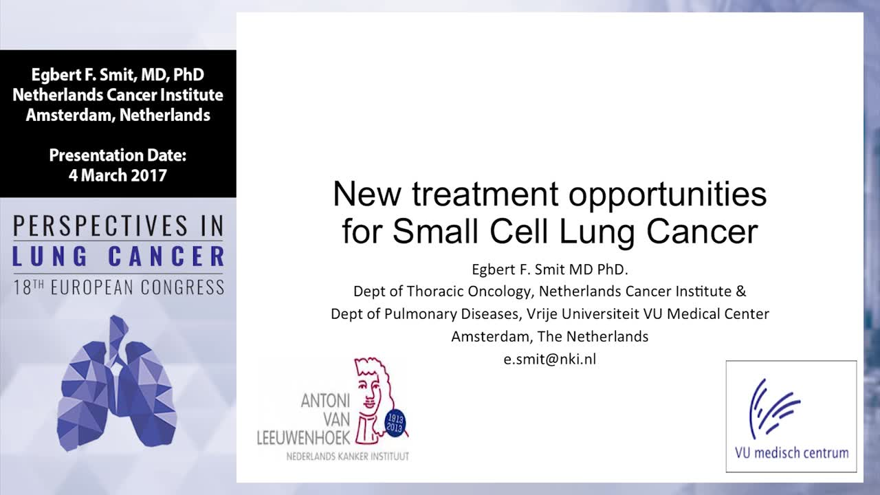 New treatment opportunities for small cell lung cancer