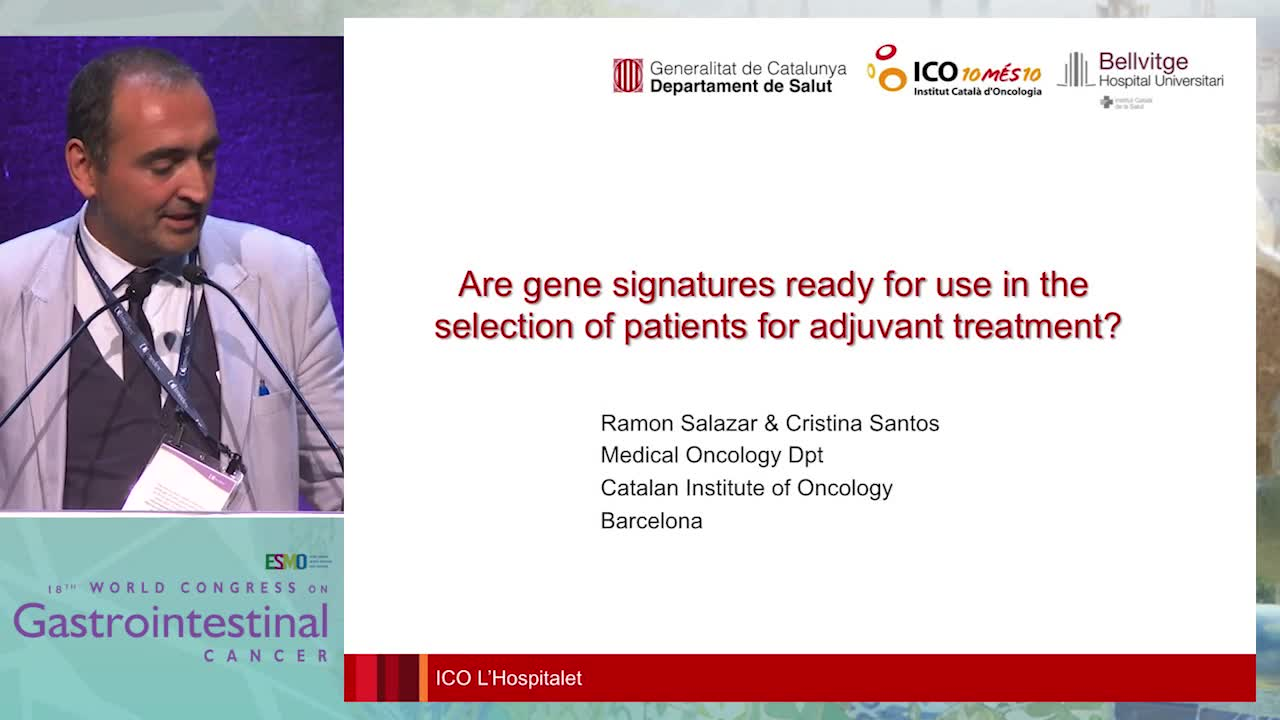 Are gene signatures ready for use in the selection of patients for adjuvant treatment?