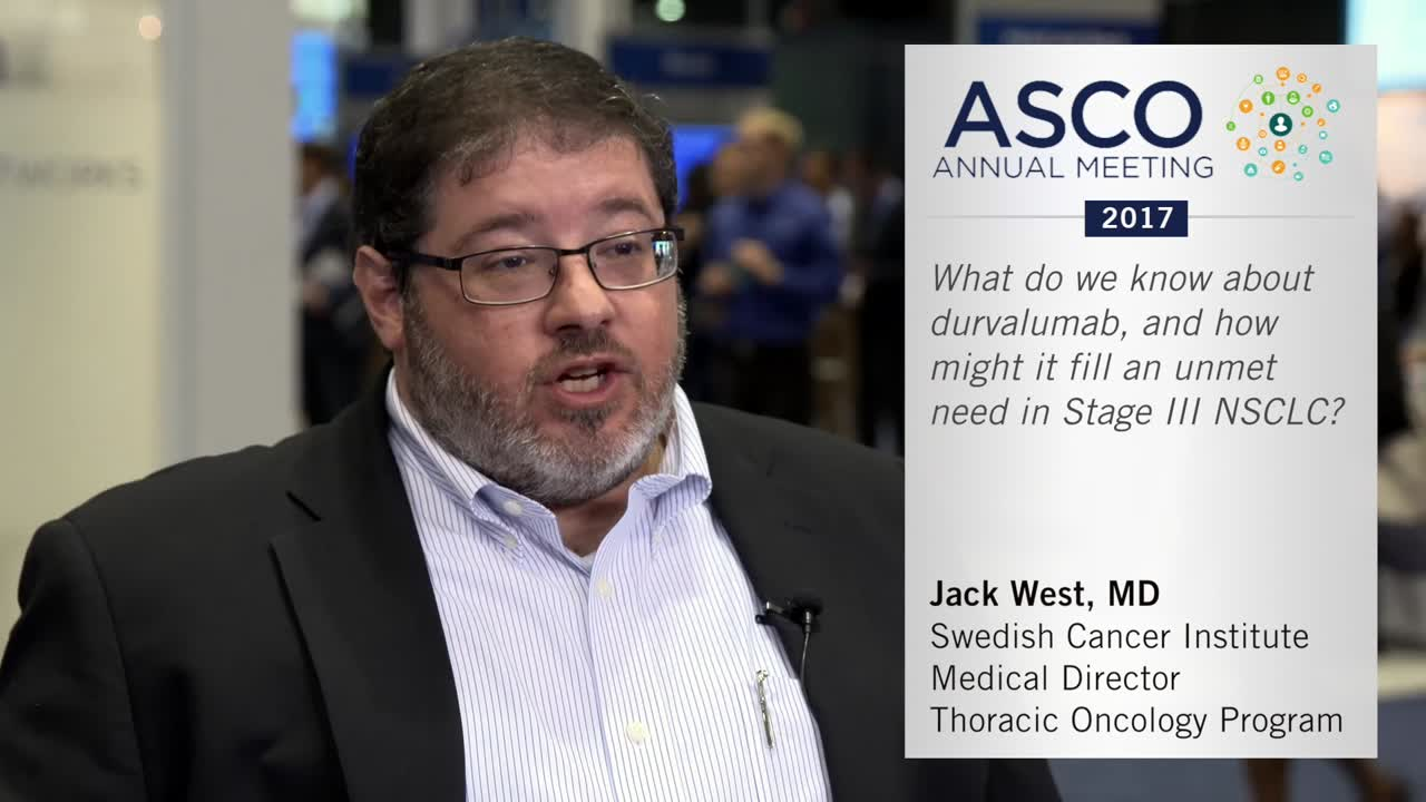Durvalumab in stage III NSCLC