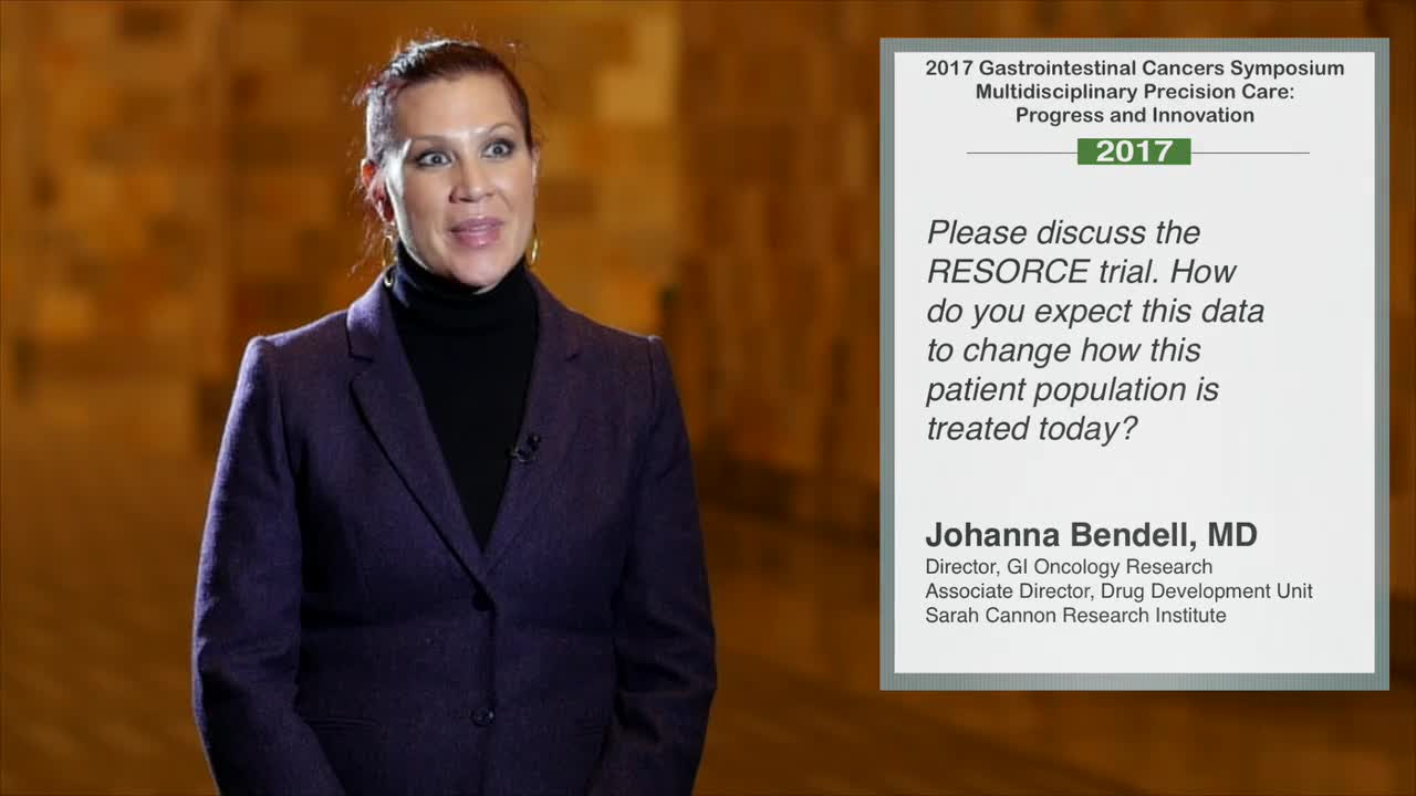 Annual Meeting GI 2017: Data from RESORCE Trial