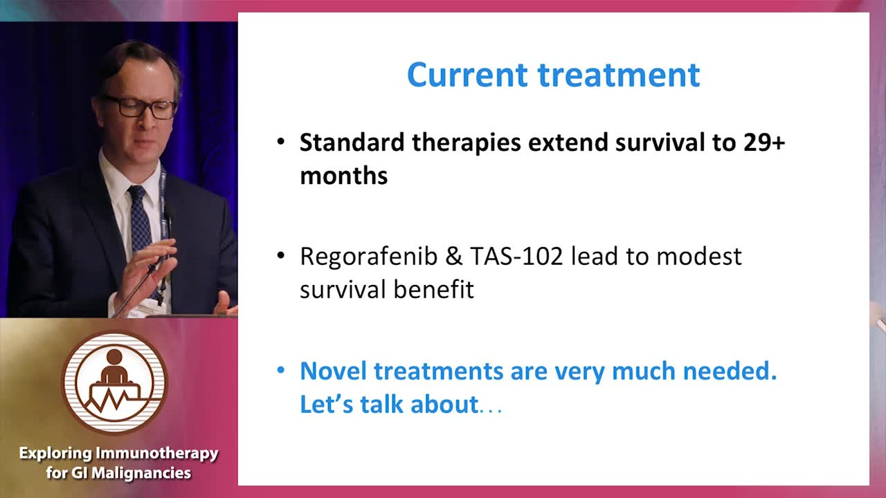 Integrating immunotherapy into current treatment algorithms for GI cancers