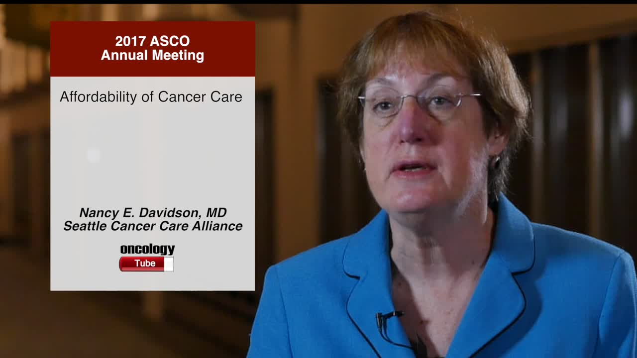 Affordability of Cancer Care