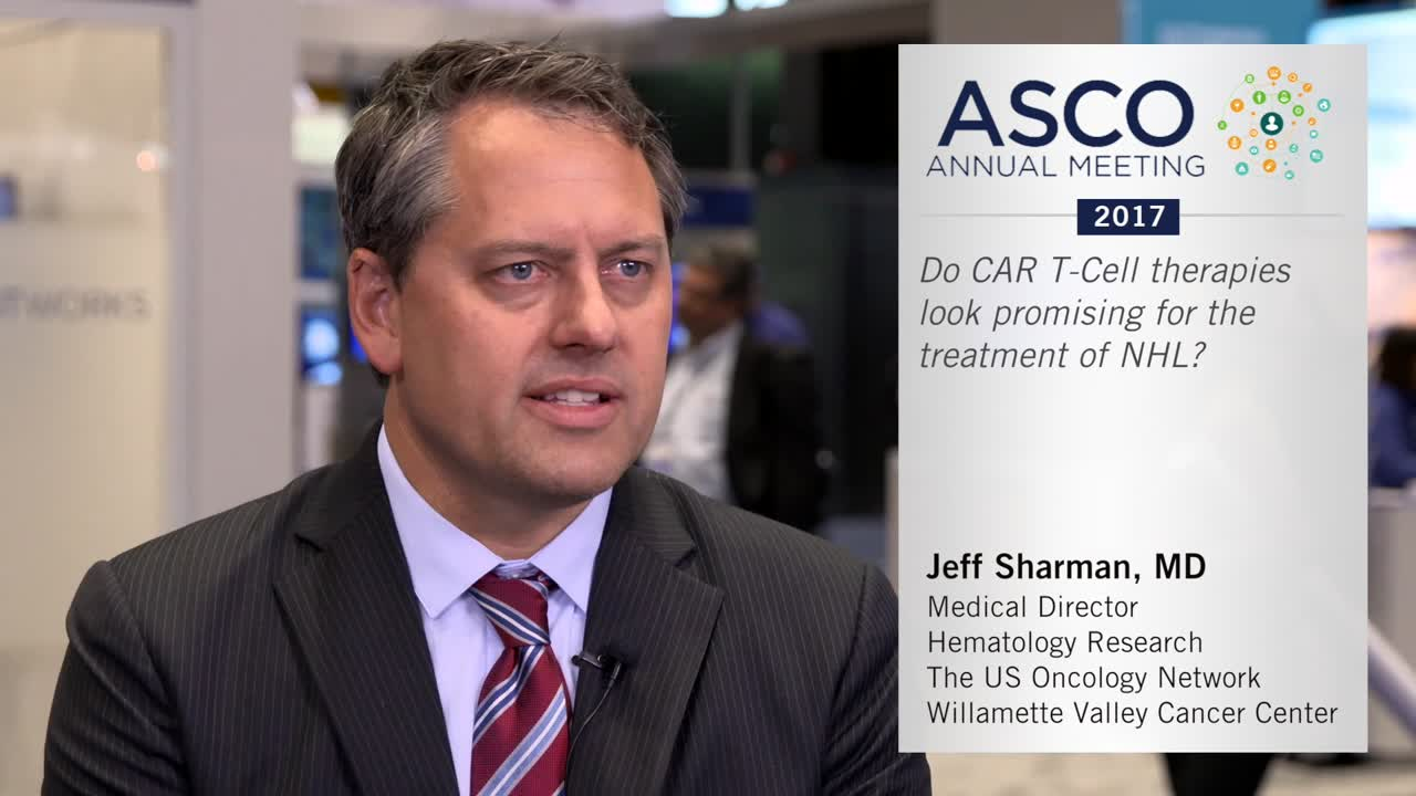 Do CAR T-Cell therapies look promising for the treatment of NHL?
