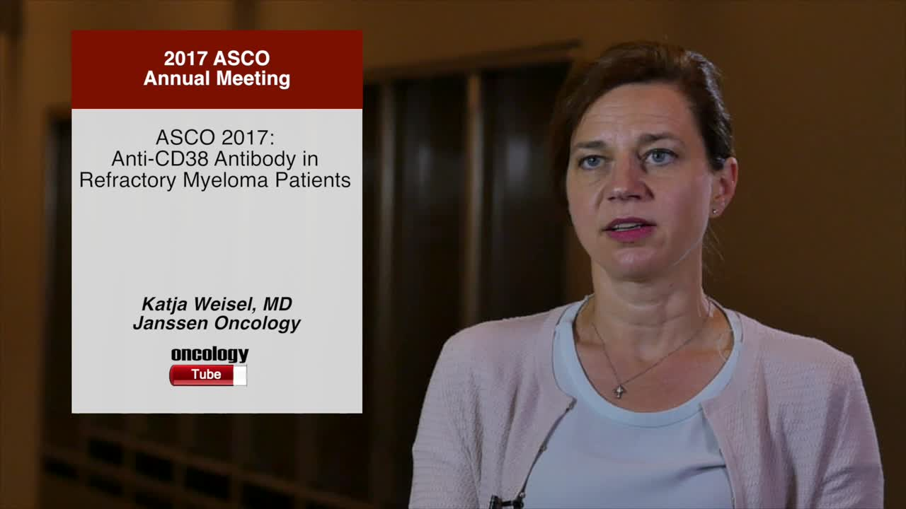 Annual Meeting 2017: Anti-CD38 Antibody in Refractory Myeloma Patients
