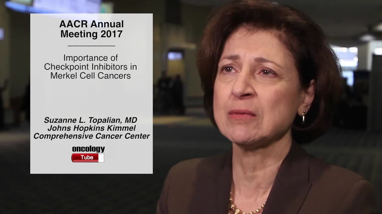 Importance of Checkpoint Inhibitors in Merkel Cell Cancers