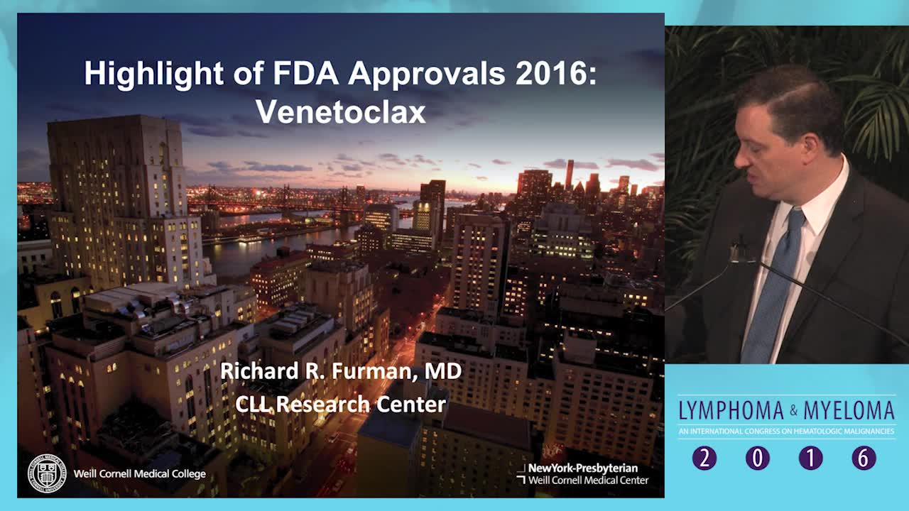 Highlight of FDA approvals 2016: Venetoclax