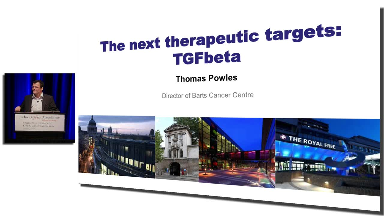 The Next Therapeutic Targets: TGFbeta
