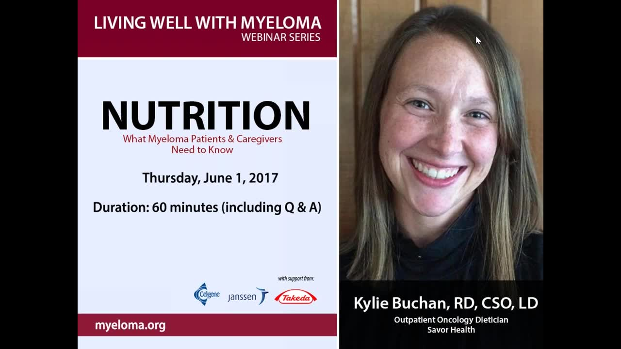 Living Well - Nutrition