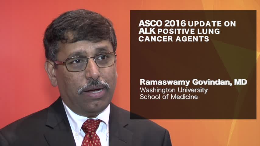 ASCO 2016 update on ALK+ lung cancer agents