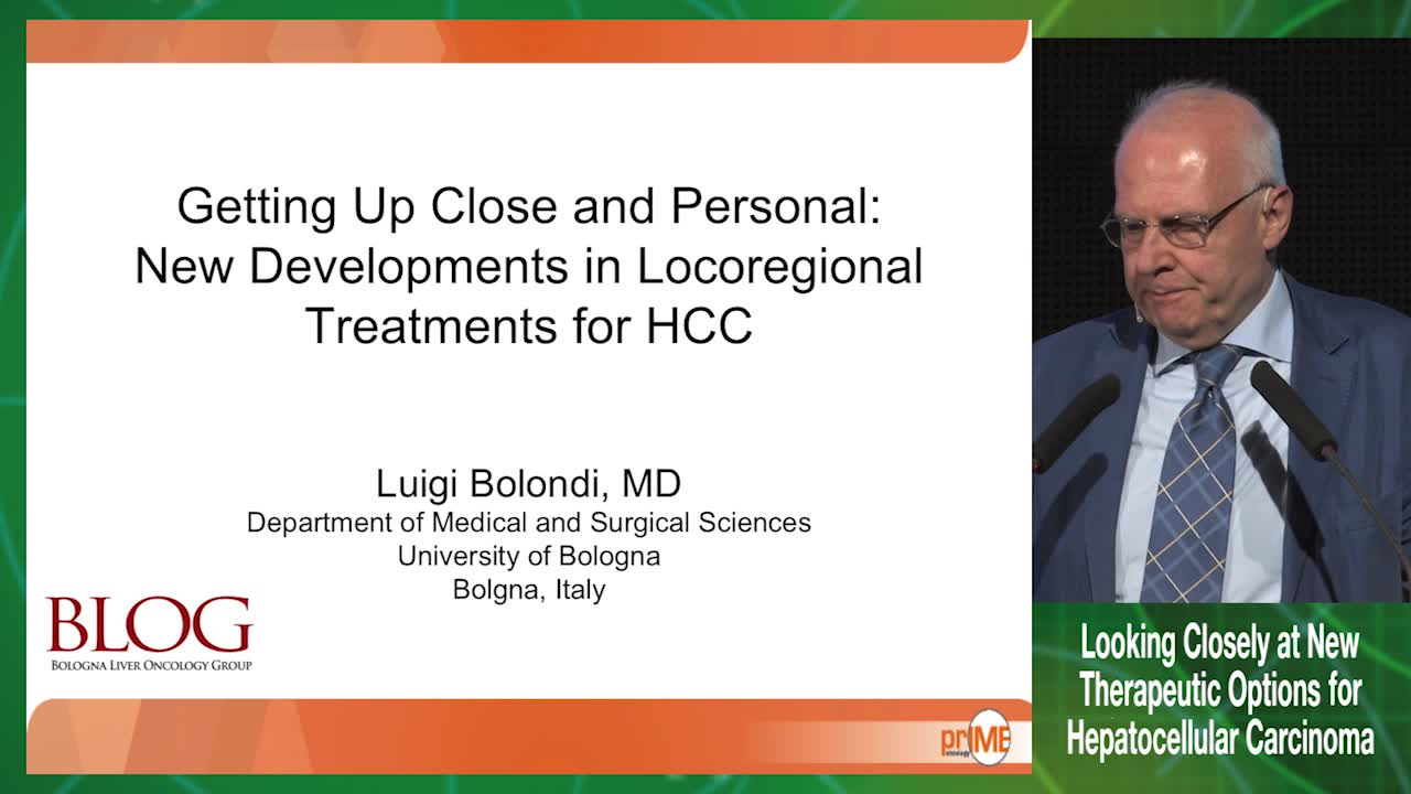 New developments in locoregional treatments for HCC