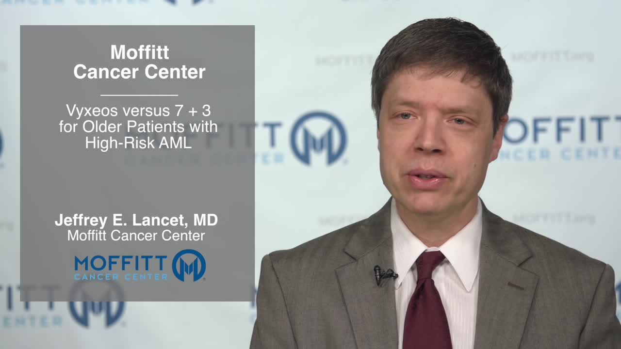 Vyxeos versus 7 + 3 for Older Patients with High-Risk AML