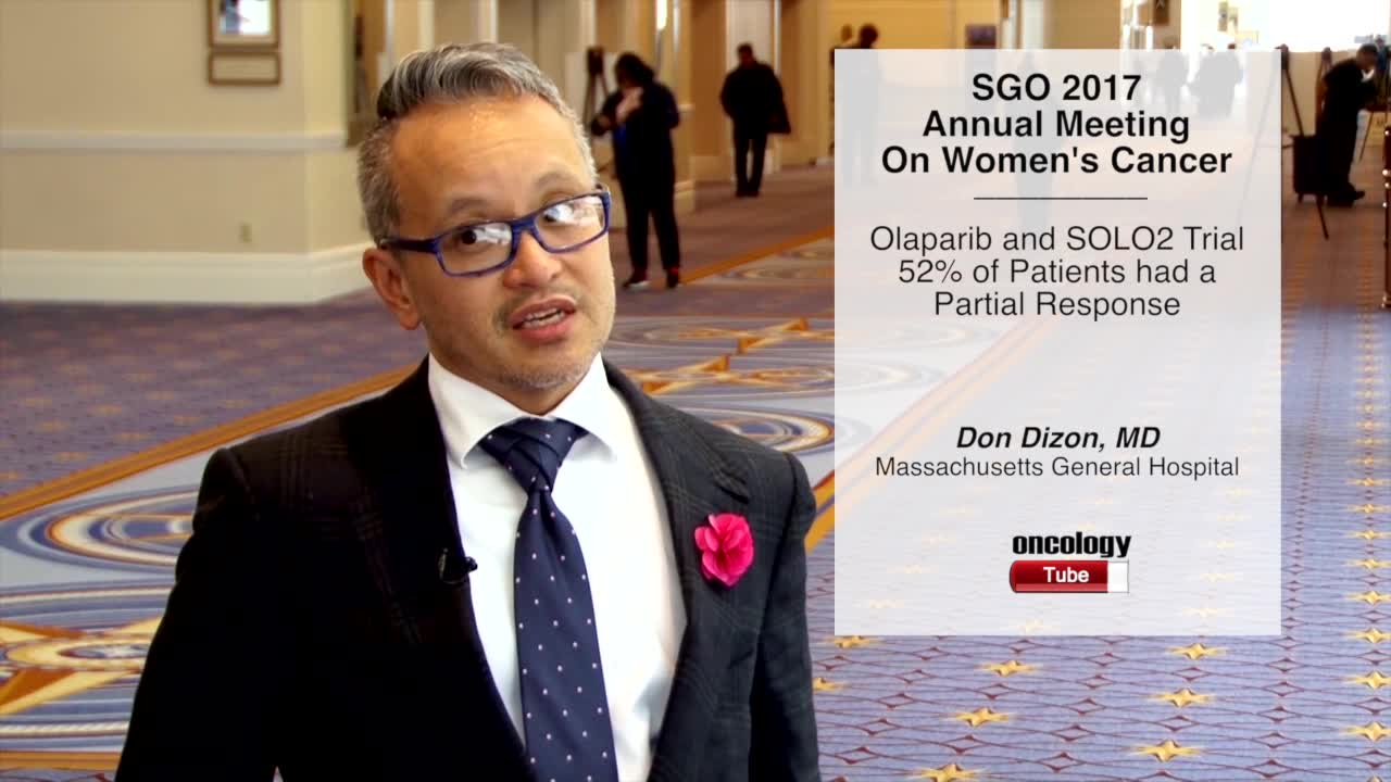 Olaparib and SOLO2 Trial: 52% of Patients Had a Partial Response