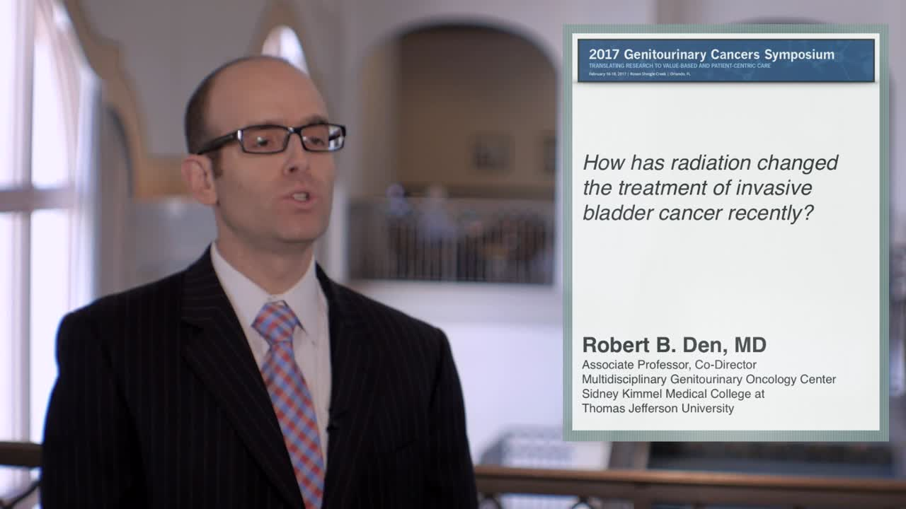 Use of Biomarkers for Radiation Treatment of Invasive Bladder Cancer