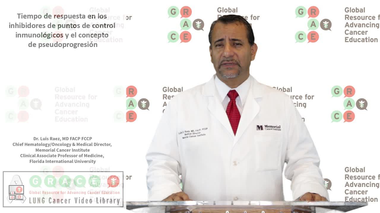 Tiempo de respuesta en los inhibidores de puntos de control inmunológicos y el concepto de pseudoprogresión