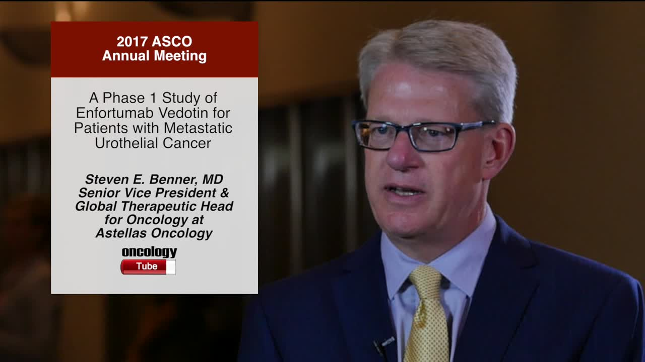 Phase 1 Study of Enfortumab Vedotin for Patients with Metastatic Urothelial Cancer