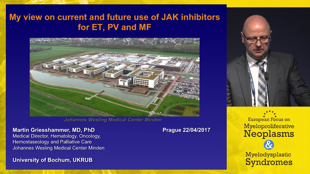 My view on current and future use of JAK inhibitors for ET, PV, and MF
