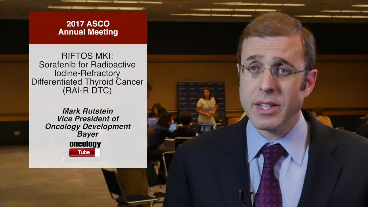 RIFTOS MKI: Sorafenib for Radioactive Iodine-Refractory Differentiated Thyroid Cancer (RAI-R DTC)