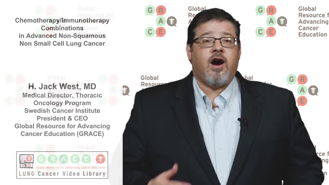 Lung Cancer Video Library - Chemo Immuno Therapy Combinations in Advanced NSCLC