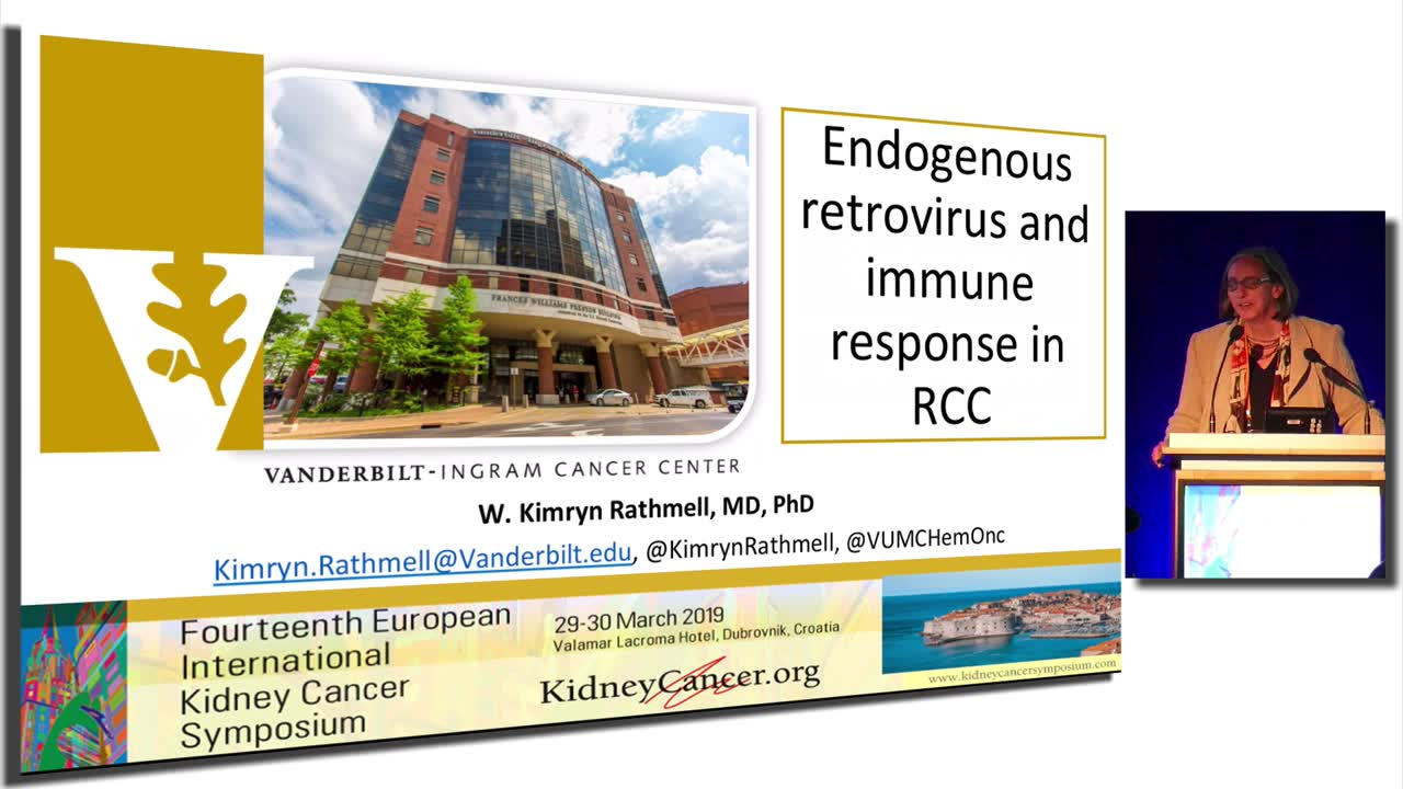 Endogenous retrovirus and immune response in RCC