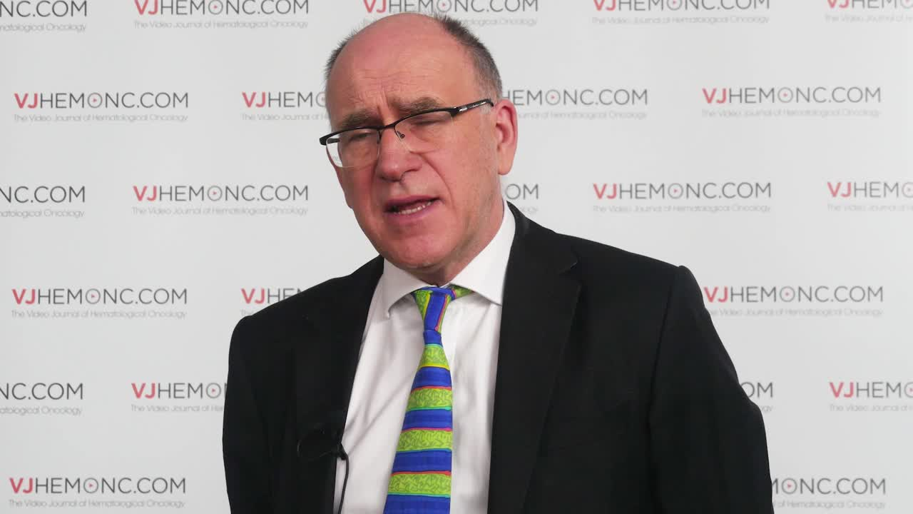 Managing disease relapse in transplant patients with AML