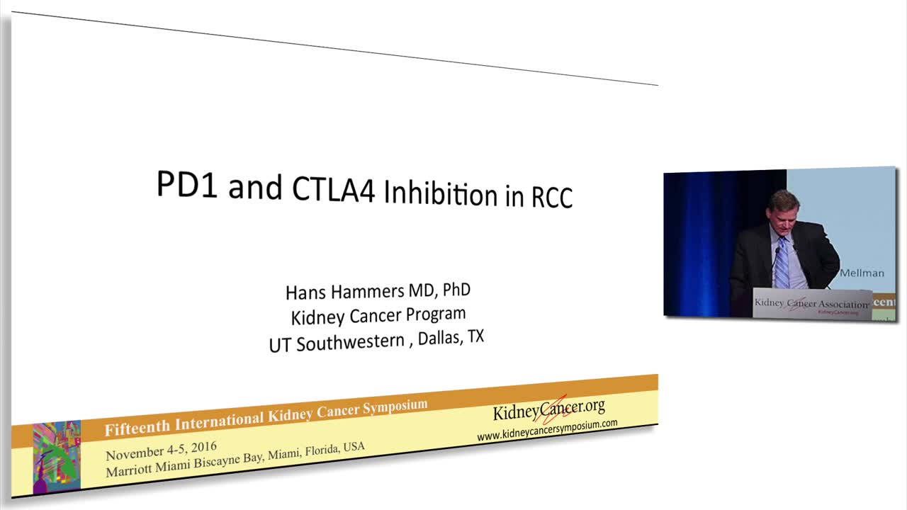 PD1 and CTLA4 Inhibition in RCC