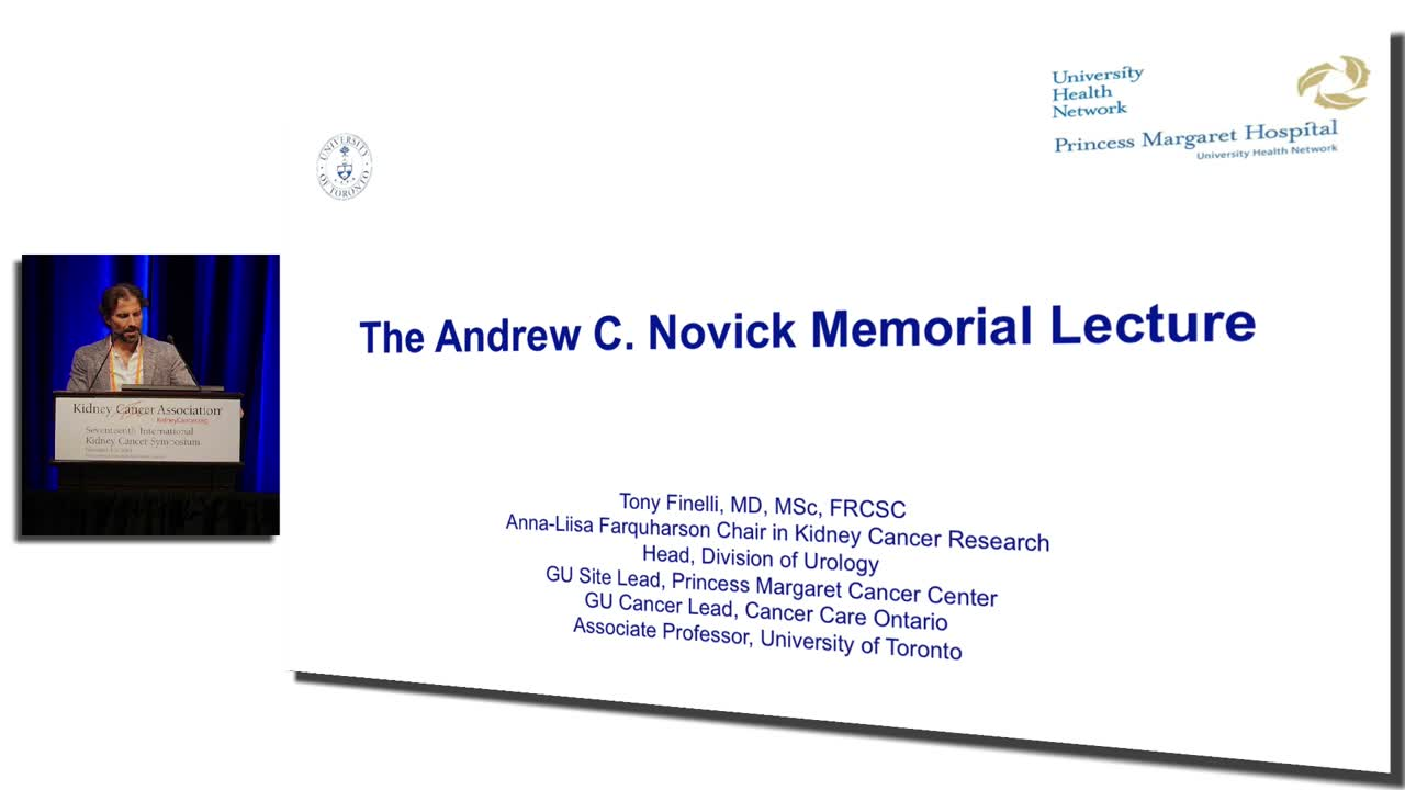 Novick Memorial Lecture Heterogeneity  of  Renal  Cell  Carcinoma:  Lessons  learned  from  biopsy  and  active  surveillance  of  small  renal  masses  (SRM)