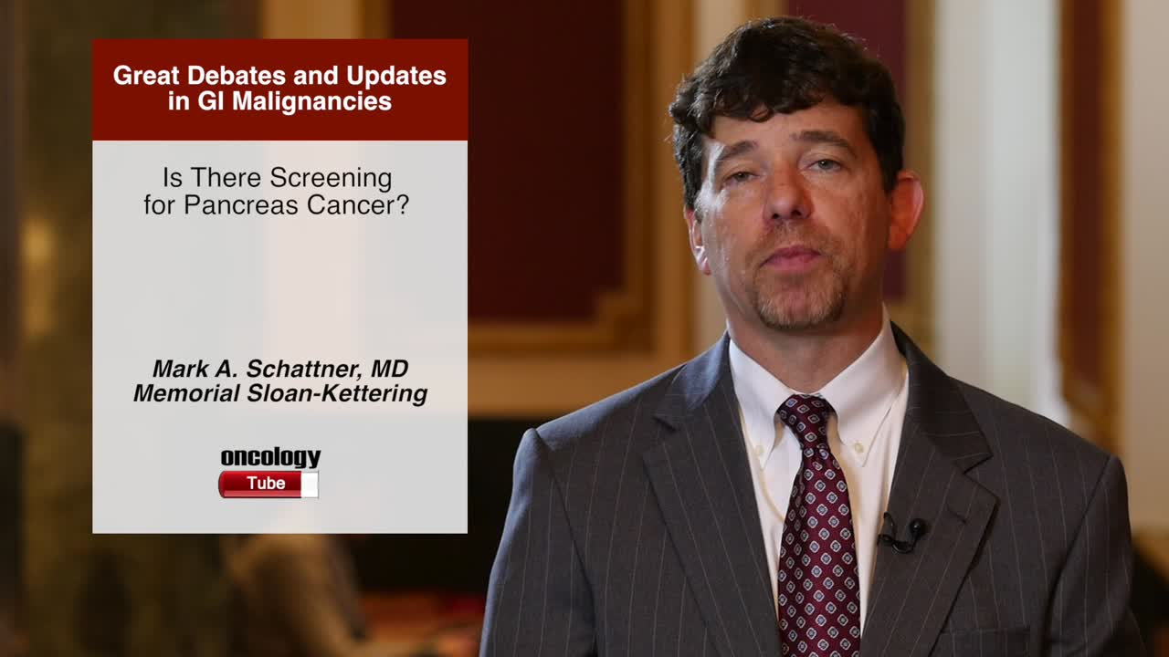 Is There Screening for Pancreas Cancer?
