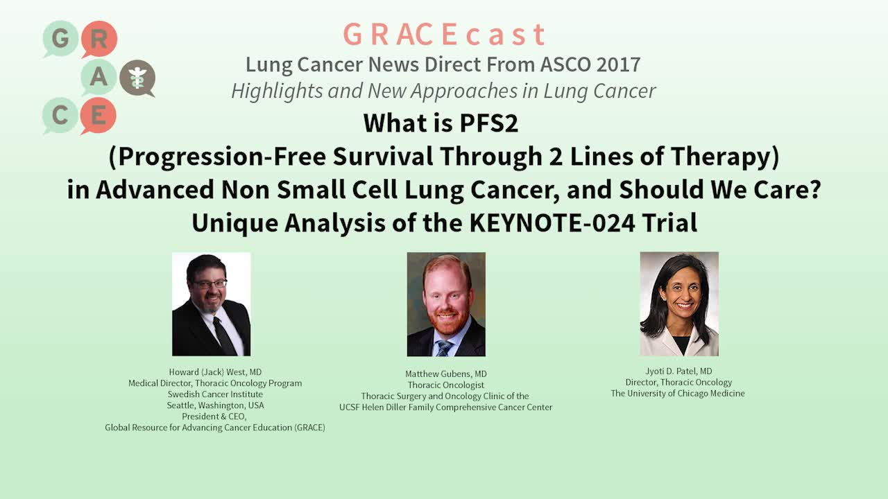 What is PFS2 in Advanced NSCLC, and Should we Care_ Unique Analysis of the KEYNOTE-024 trial [720p]