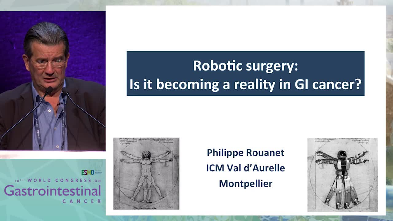 Keynote Lecture 6: Robotic surgery: Is it becoming a reality in GI cancer